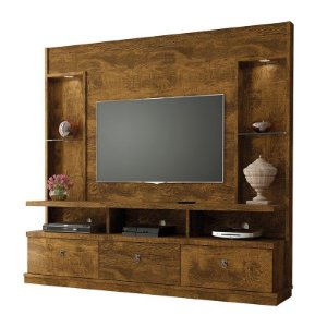 Estante Home Lukaliam Dinamarca 3 portas TV 55""