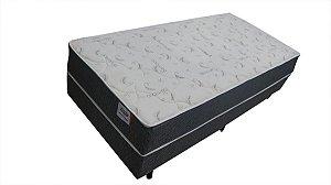 Conjunto box solteiro Plumatex Robustus molas 88x188x57