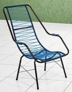 Cadeira de área JJ espaguete