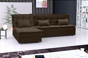 Sofá cama Matrix Penelope 2 Lugares com chaise