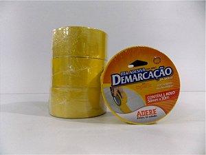 FITA DE DEMARCAÇÃO DE SOLO AMARELA 50MM X 30M -  850-I  - ADERE