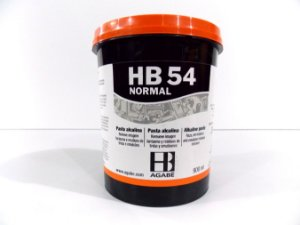 REMOVEDOR  HB54 PASTA ALCALINA NORMAL - 900ML