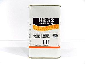 REMOVEDOR DE RESÍDUOS DE TINTAS E EMULSÕES HB52 LIQ.EXTRA - 1L
