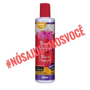 Shampoo #TodeCacho Tratamento pra Abalar - 300ML