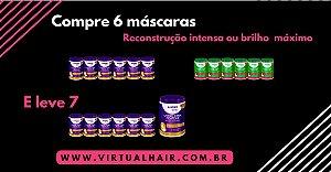 Salon Line em promoção - Creme Para Pentear Brilho Máximo 1kg 6 UN