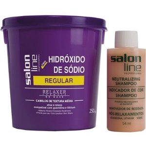 Hidróxido De Sódio Salon Line Tradicional Regular 250gr