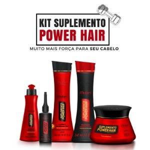 Kit Mutari Suplemento Power Hair Completo