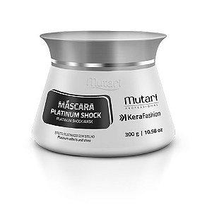 Mascara Matizador Para Cabelos Ultra Claros Platinum Shock Kerafashion Professional 300g