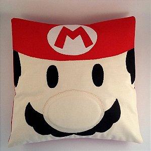 "Almofada Super Mario Bros ""Mario"""