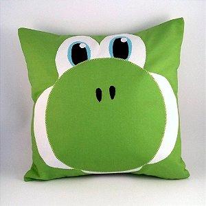 """Almofada Super Mario Bros """"Yoshi"""""""