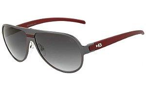 Óculos De Sol Hb Freeride Graphite Metallic Degradê