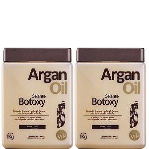 Kit 02 Botox Capilar New Vip Argan Oil