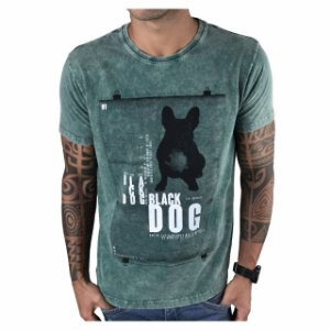 T-Shirt Black Dog