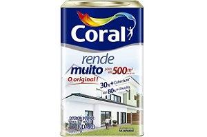 Tinta Acrílica Rende Muito Interna e Externa Coral 18 litros
