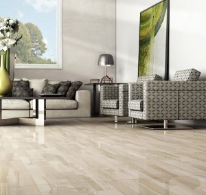 PORCELANATO 62X62 LOFT ALMOND BRILHANTE BORDA RETA (RETIFICADO) ESTHER
