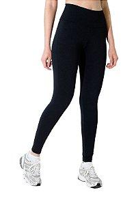 Calça Legging Preta com cintura alta