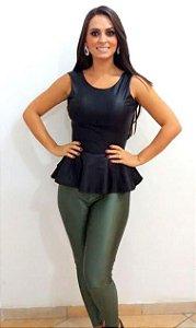 Calça verde musgo Hot Pants