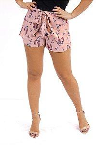 Shorts amarração frente