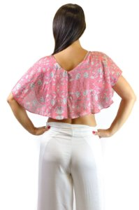 Blusa sedinha rosa