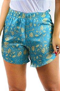 Shorts sedinha verde