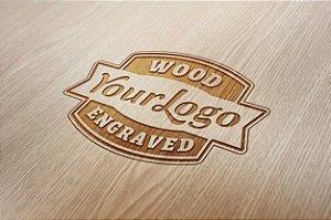 Gravação personalizada da logomarca da empresa