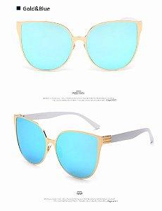 Óculos de Sol Feminino, Gata, UV 400
