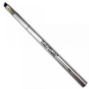 Pincel Profissional Chanfrado para Sombra Linha Silver Macrilan S-03