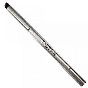 Pincel Profissional de Precisão Kabuki Chanfrado Linha Silver Macrilan S-14