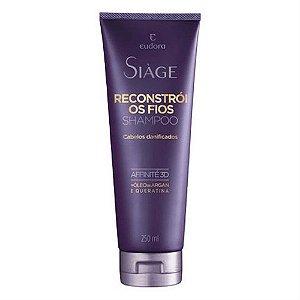 Shampoo Eudora Siàge Reconstrói os Fios 250ml
