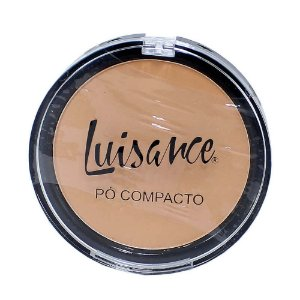 Pó Compacto Facial Lux Luisance Cores Claras L647A  - 2 Cores Disponíveis
