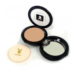 Pó Compacto Facial Playboy HB84401- 2 Cores Disponíveis