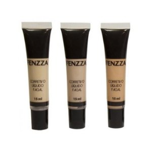 Corretivo Líquido Facial Fenzza CL99 - 3 Cores Disponíveis