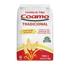 FARINHA DE TRIGO COAMO 1KG
