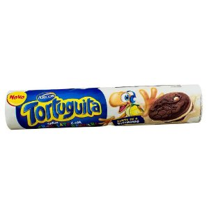 BISCOITO TORTUGUITA CHOCOLATE COM BAUNILHA