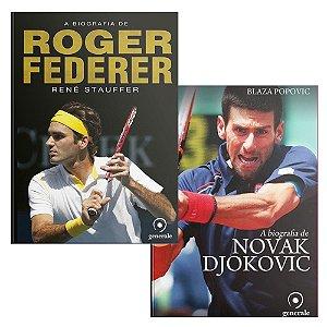 Biografias: Djokovic e Federer