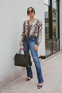 Calça Jeans Bootcut  -  Lemier -  FC000549