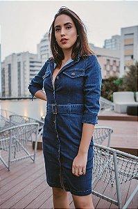 Vestido Jeans Escuro - IZZAT