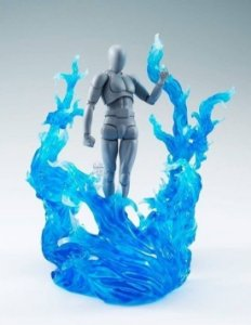 Tamashii Nations Effect Burning Flame Blue – Bandai