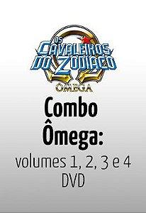 Os Cavaleiros do Zodíaco Ômega: 1ª Temporada Completa – DVD
