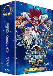 Pré-venda: Os Cavaleiros do Zodíaco Ômega – 2ª Temporada – Vol. 1 – DVD