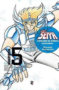 Pré-venda: Saint Seiya – Cavaleiros do Zodíaco – Kanzenban #05