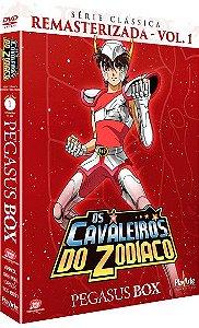 Pré-venda: Os Cavaleiros do Zodíaco – Série Clássica Remasterizada (Pegasus Box) – DVD