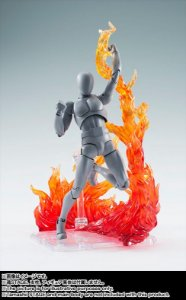 Tamashii Nations Effect Burning Flame Red – Bandai