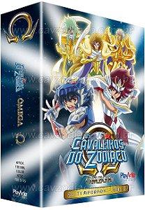 Pré-venda: Os Cavaleiros do Zodíaco Ômega: 2ª Temporada – Vol. 3 – DVD