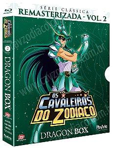 Pré-venda: Os Cavaleiros do Zodíaco: Série Clássica Remasterizada (Dragon Box) – Blu-ray
