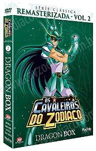 Pré-venda: Os Cavaleiros do Zodíaco: Série Clássica Remasterizada (Dragon Box) – DVD