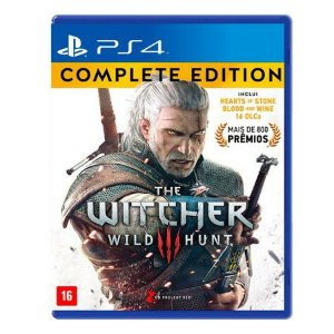 The Witcher 3: Wild Hunt (Complete Edition) PS4 Mídia Física