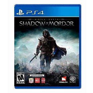 Jogo Middle-Earth: Shadow of Mordor - PS4 Mídia Física