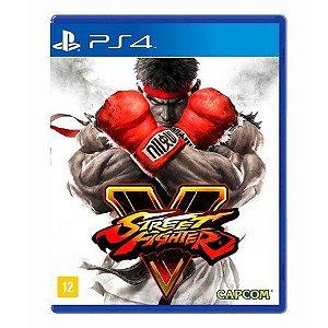 Jogo Street Fighter V - PS4 Mídia Física
