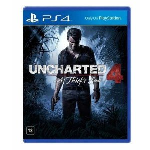 Uncharted 4: A Thief's End - PS4 Mídia Física